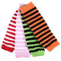 Striped Long Baby's Leg Warmers