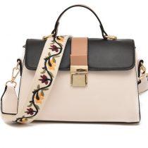 Fashion Floral Embroidered Leather Women's Shoulder Bag