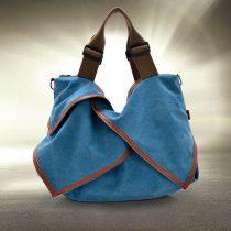 Ladies Preppy Canvas Tote Bag