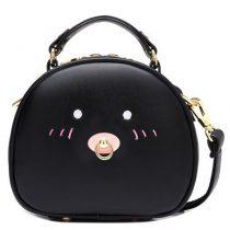 Girls' Pig Design Tote Shoulder Bag