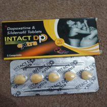 Intact dp dapoxetine & Sildenafil Tablets for men