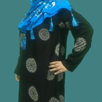 Abaya 2020 best design simple flower in Pakistan