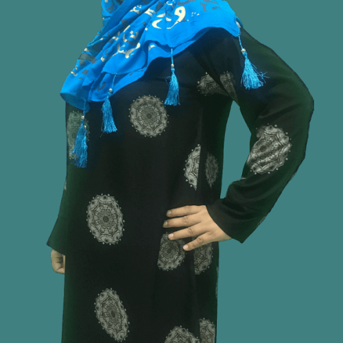 Abaya 2020 best design simple flower in Pakistan