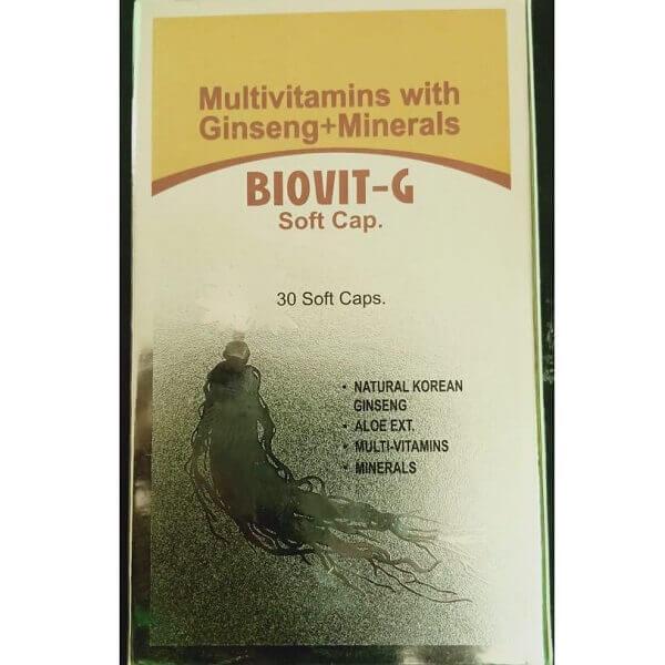 Best Multivitamin Biovit-G 30 Capsule in Pakistan