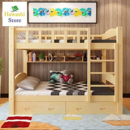 Low Height Storage Draws Double Story Bunk Bed