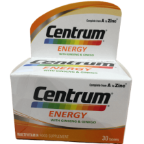 Centrum Energy A to Zins 30 Capsule Pack in Pakistan