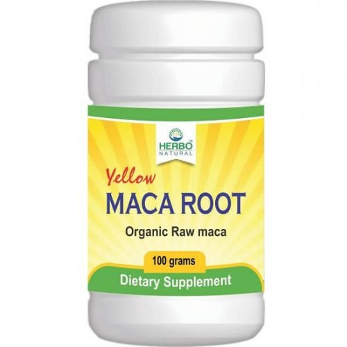 Maca roots herbal yellow powder dietary Supplement in Pakistan