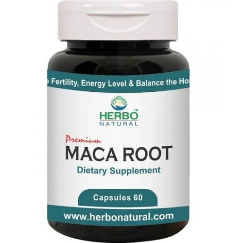 MACA Roots Herbal Powder 60 Capsule Natural Supplement in Pakistan