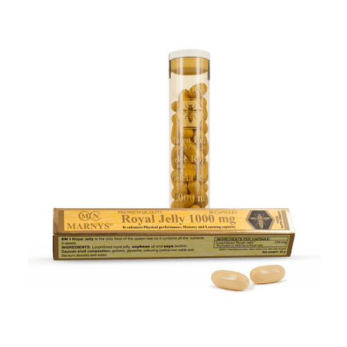 Marnys Royal Jelly Capsules 1000 mg in Pakistan