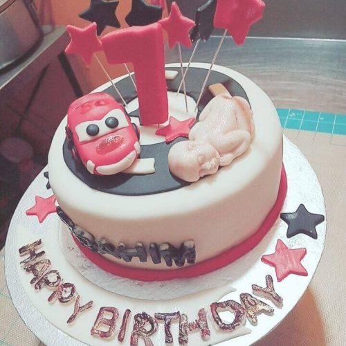 Happy birthday Kids Animated Cakes Design in Lahore