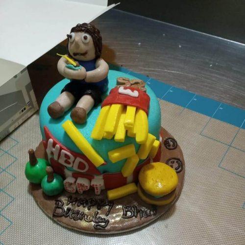 Brother Happy Birthday Cake Online