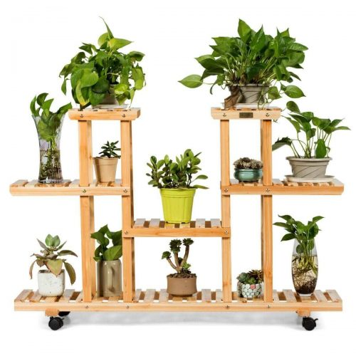 Plant Stand for Indoor and Outdoor Home Garden
