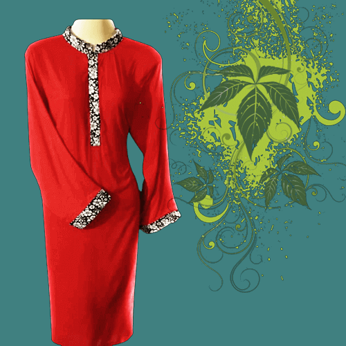 Women's Red Latest Casual Design Fashion Wear Dresses