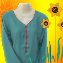 female kurti, best women top fashion dress shirt beautiful latest design ladies clothes