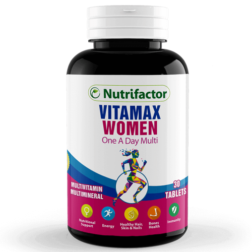 Vitamax women reduces Iron Deficiency Anemia